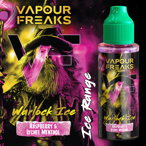 WARLOCK ON ICE - Vapour Freaks ZERO e-liquid