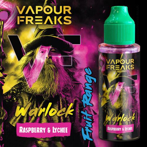 WARLOCK - Vapour Freaks ZERO e-liquid