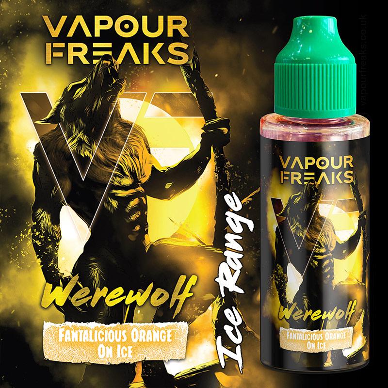 Werewolf 100ml - Vapour Freaks e-liquids UK