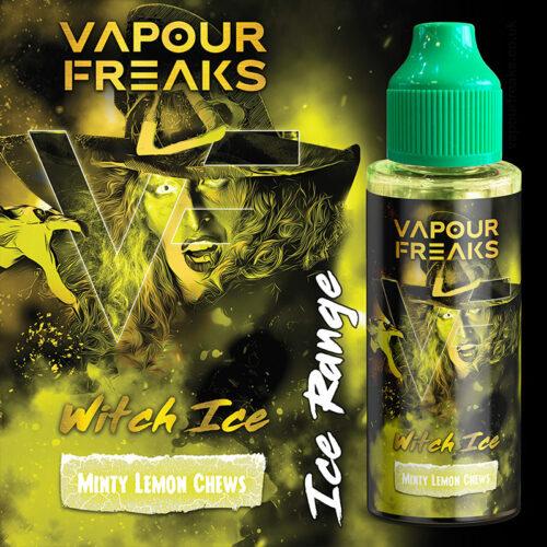 WITCH ON ICE - Vapour Freaks ZERO e-liquid