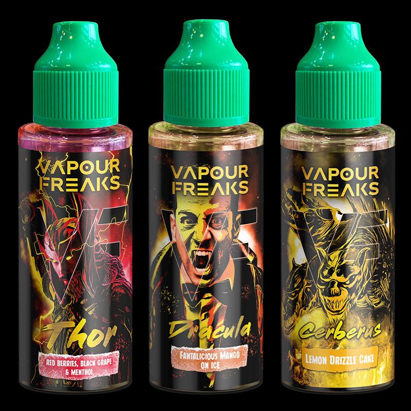 NEW - Vapour Freaks Design