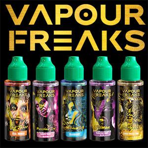 Vapour Freaks e-liquids
